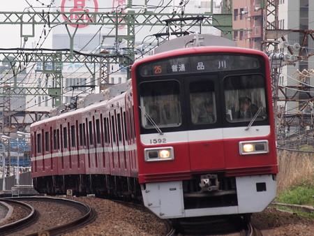 京急1500形普通 京急本線仲木戸~神奈川