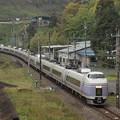 E351系特急スーパーあずさ 中央本線藤野~上野原02