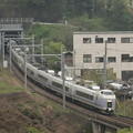 E351系特急スーパーあずさ 中央本線藤野~上野原04
