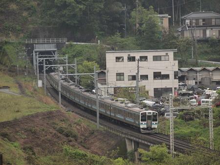211系普通  中央本線藤野~上野原01
