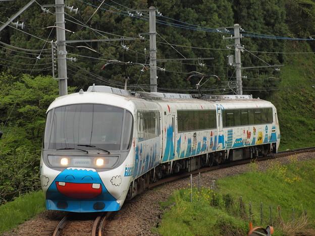 富士急8000系フジサン特急  上大月~田野倉01