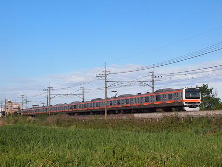 209系普通   武蔵野線東浦和~東川口01