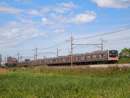 205系普通   武蔵野線東浦和~東川口04