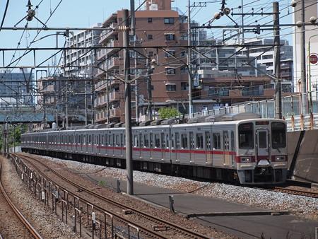 東武30000系準急 東武東上線朝霞台駅