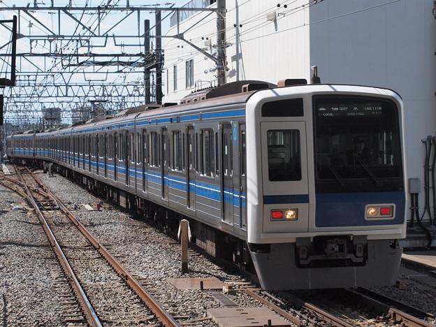 西武6000系各停  東武東上線和光市駅02