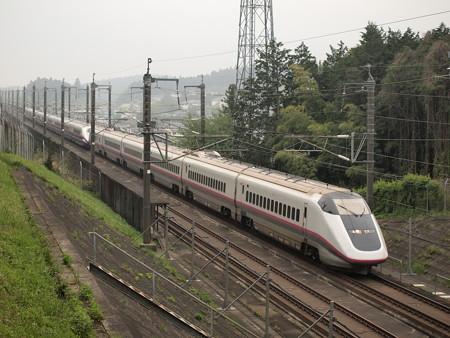 E3系+E2系 東北新幹線なすの 東北新幹線宇都宮~那須塩原