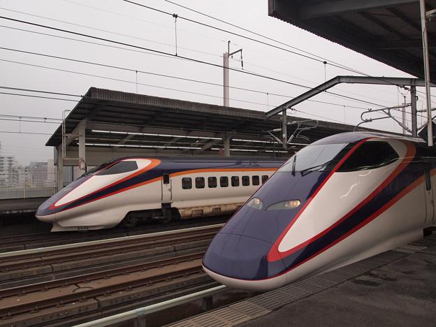 E3系つばさ 東北新幹線宇都宮駅
