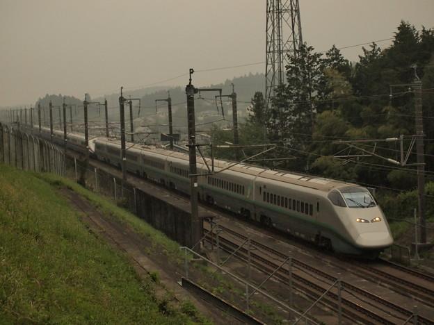 E3系+E2系 つばさ・やまびこ 東北新幹線宇都宮~那須塩原01