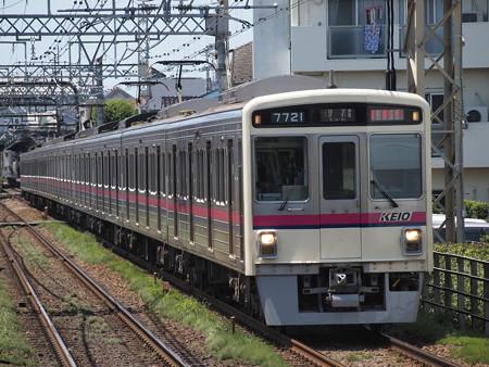 京王7000系特急 京王線西調布駅02