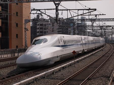 N700系のぞみ  東海道新幹線浜松駅03