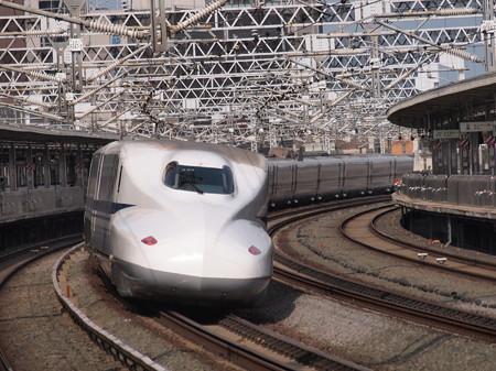 N700系のぞみ  東海道新幹線浜松駅01