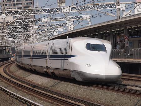 N700系のぞみ  東海道新幹線浜松駅02