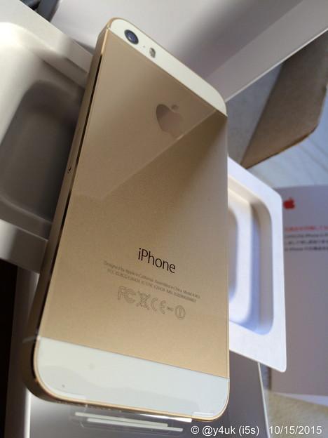 15.10.15 iPhone 5s ~新品交換まだまだ使います