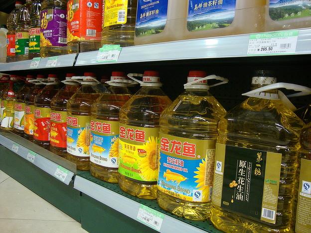金龍魚印の油
