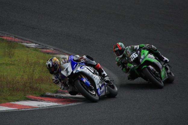 #1 YAMAHA FACTORY RACING TEAM/中須賀克行選手07