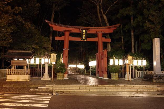 2015年12月30日 弥彦神社 一の鳥居