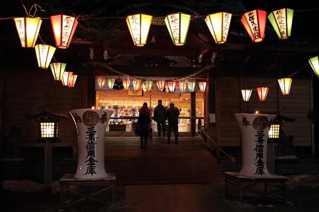 2016年1月14日 八幡宮 献灯祭