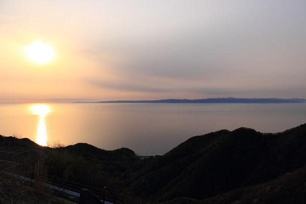 2016年4月 弥彦山山頂にて