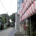 世田谷線:上町駅界隈_天祖神社-00社号標・参道