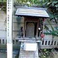 Photos: 品川駅高輪口界隈_高山(稲荷)神社-04石灯籠(おしゃもじさま)