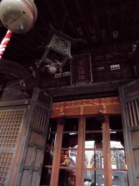 品川駅高輪口界隈_高山(稲荷)神社-02社殿d