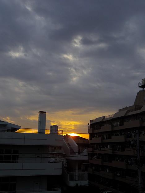 写真: 夕焼け_2014.02.28.-01a