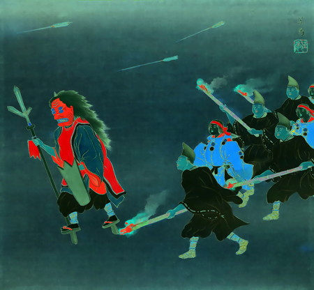 from 『吉田神社追儺』-01