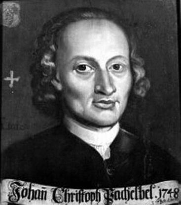 ヨハン・パッヘルベル (Johann C. Pachelbel)