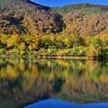 紅葉~須川湖