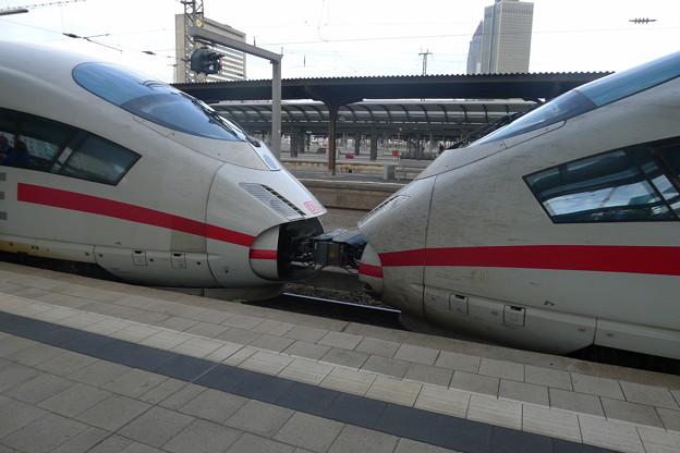 フランクフルト中央駅 ICE3