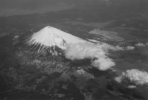 写真: 『富士山上空』其の壱