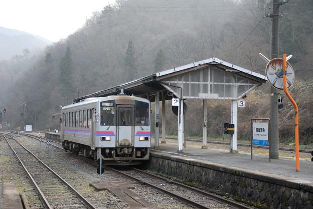 山奥の接続駅