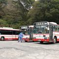 写真: 島鉄バス小地獄営業所