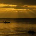 立石海岸「光芒」