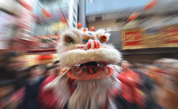 獅子舞(春節) (2)