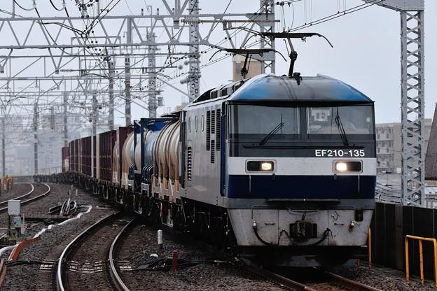 EF210-135牽引鹿島貨物1093レ