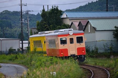 いすみ鉄道新米列車(キハ20 1301+いすみ352)
