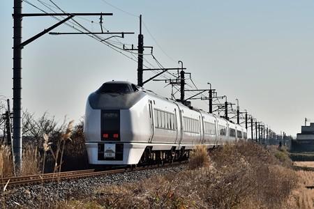 651系成田山初詣団体臨時列車(後追い)