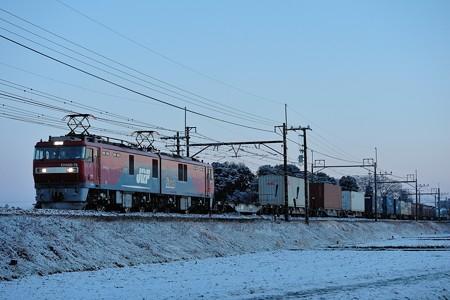 EH500-76牽引高速貨物3076レ