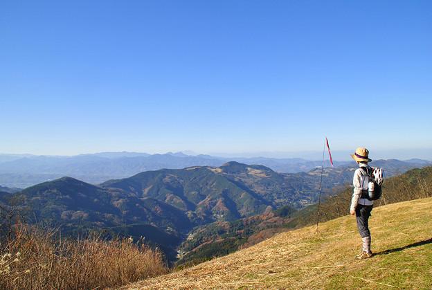 堂平山からの眺め