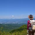 写真: 赤城山 黒檜山展望台からの景色
