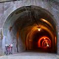 写真: 宇津ノ谷隧道