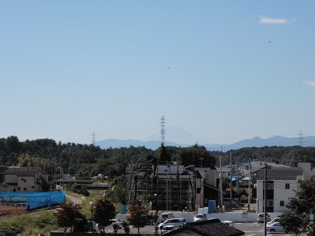 遠く富士山まで・・・