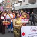 写真: パレードが始まりました。
