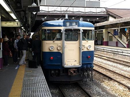 115系中央本線(甲府駅)