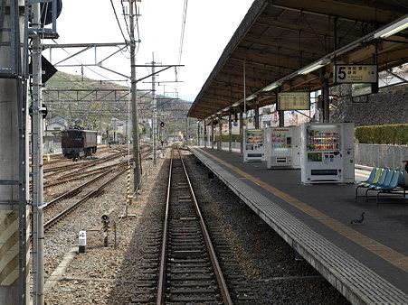 甲府駅身延線5番線ホーム