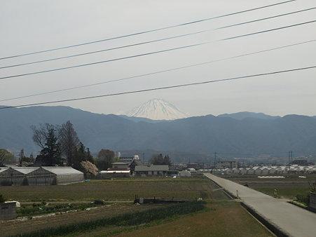 富士山2(身延線の車窓)