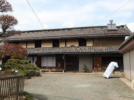 古いお家(勝沼ぶどう郷駅付近)