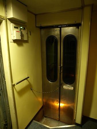 寝台特急「北陸」ドア付近