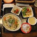 Photos: ヘルシープレート_根菜と牛肉の梅蒸し